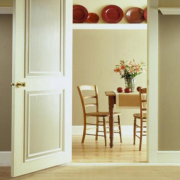 Распашная дверь на кухню фото