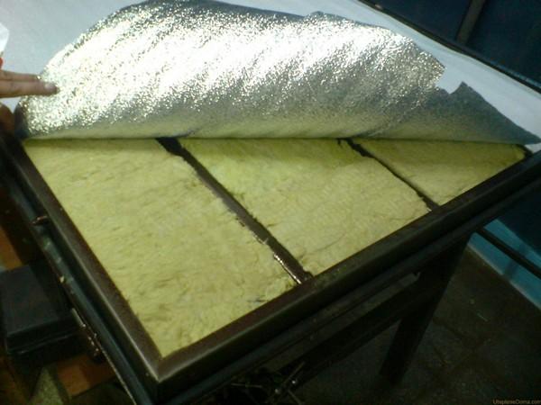 Утеплитель минеральная вата для двери