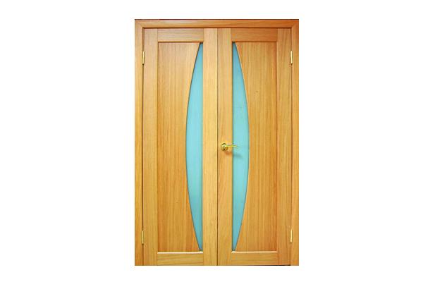 Виды шпонированных дверей