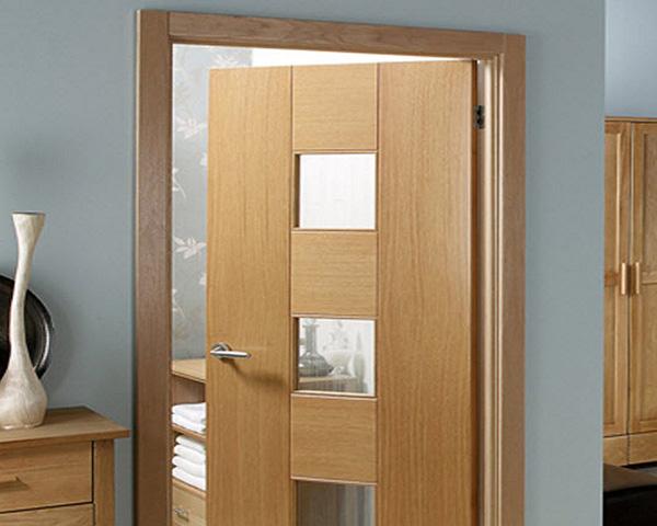Характеристики ламинированных дверей