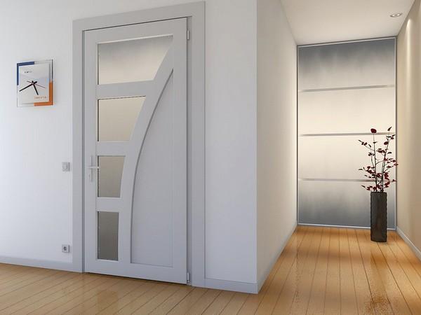 двери пластиковые межкомнатные фото