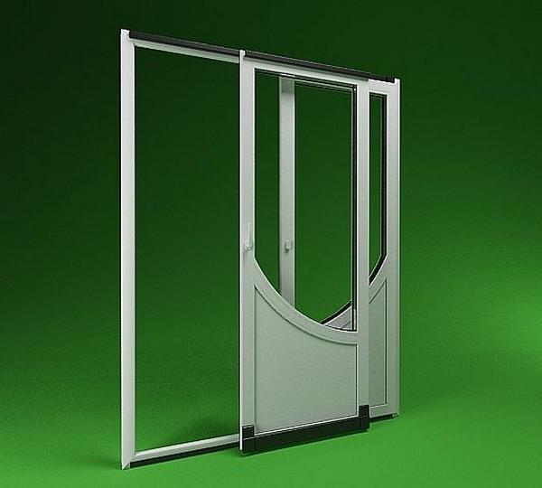 Раздвижные пластиковые двери фото