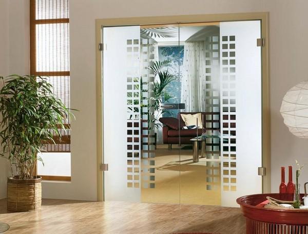 дверь двойная распашная фото