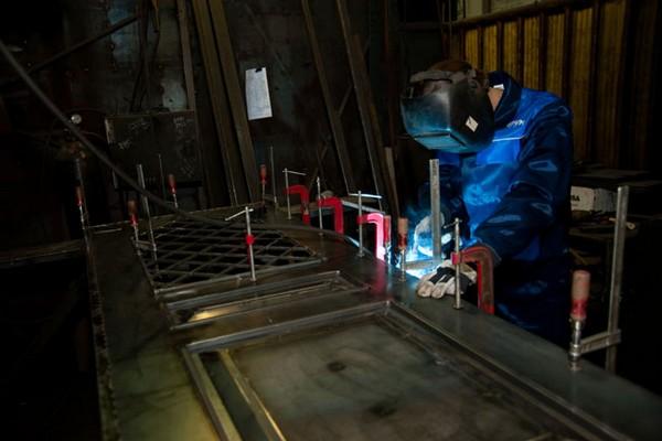 изготовление металлических дверей своими руками фото