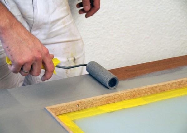 как покрасить двери межкомнатные фото