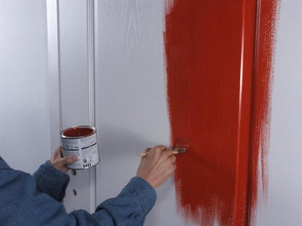Как обновить дверь своими руками, реновируем старые 43