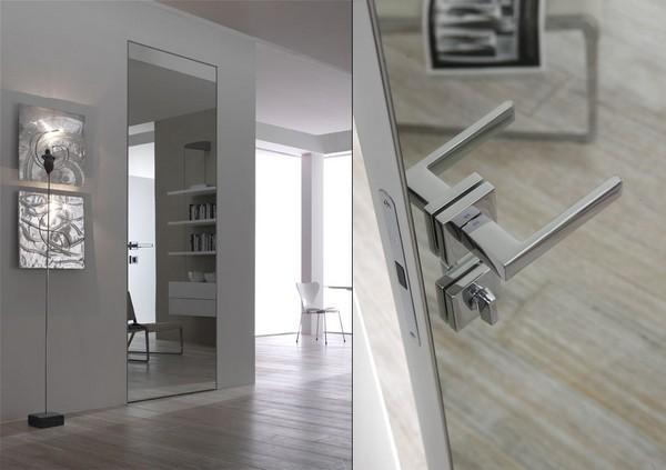 Зеркальные двери: особенности и разновидности Двери Дома 919