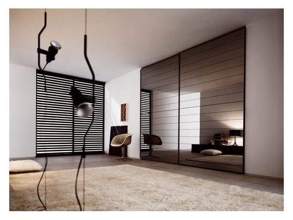 Зеркальные двери: особенности и разновидности Двери Дома 50