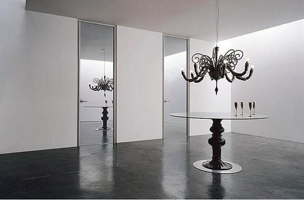 Зеркальные двери: особенности и разновидности Двери Дома 68