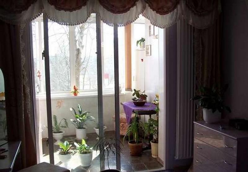 балконная дверь фото