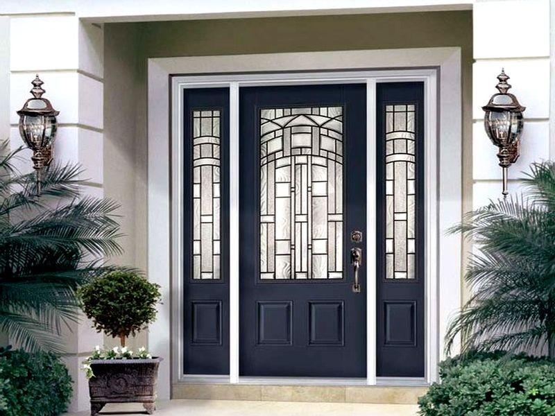 теплые двери для дома фото