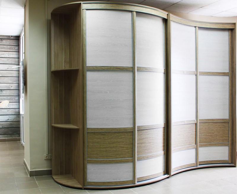 радиусные двери для шкафов купе фото